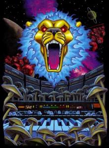 Lionize European Tour Poster