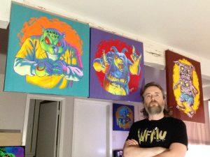 The Goddamn Dave Hill Art Show!